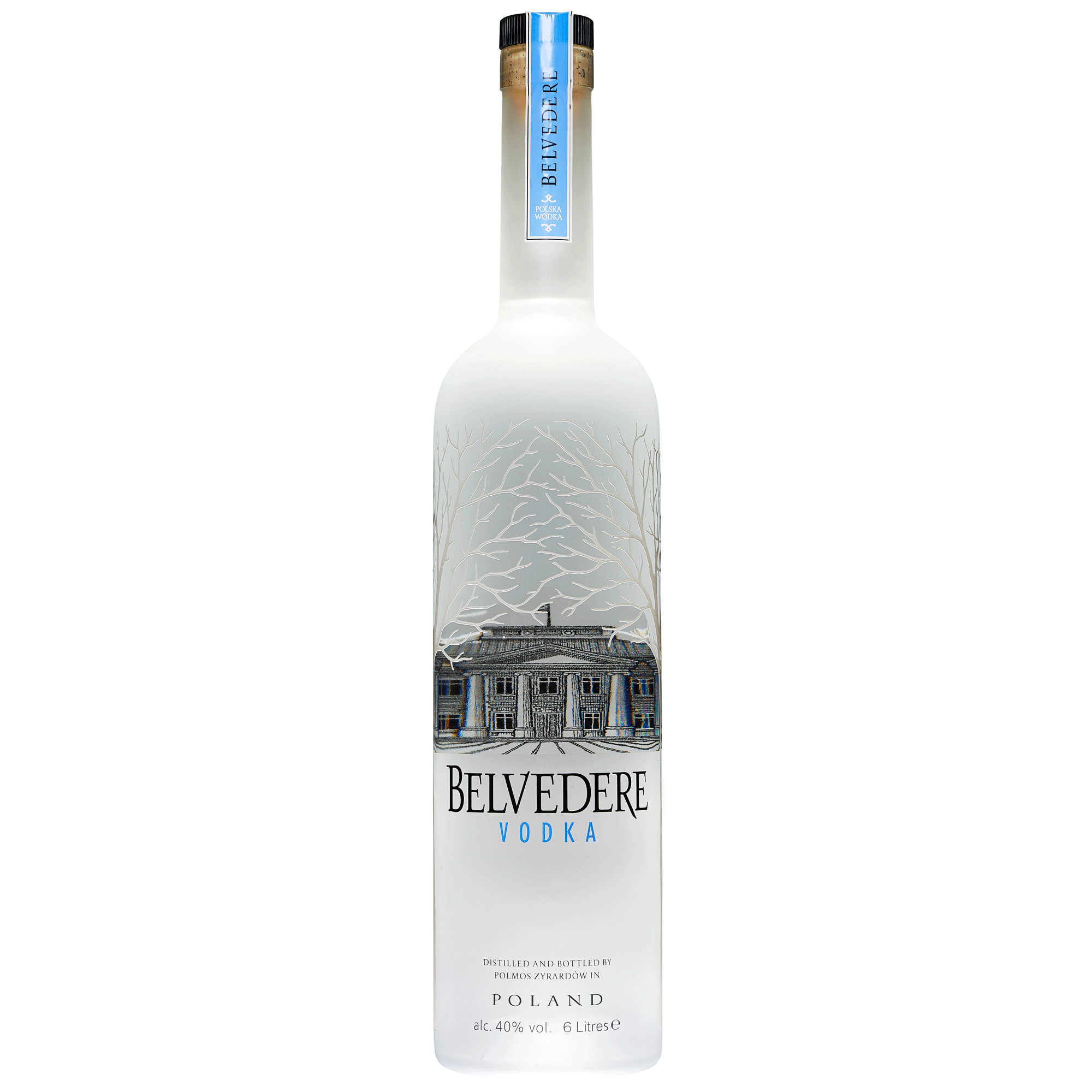 belvedere pure vodka illumination bottle 6 litre bottle butler. Black Bedroom Furniture Sets. Home Design Ideas